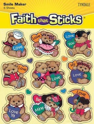 Stickers: Bears And Hearts  -