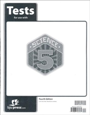 Science 5 Tests (4th Edition)   -