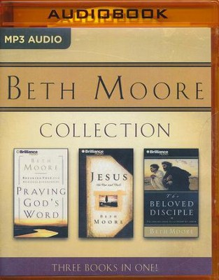 Beth Moore CD Collection: 3 Stories in 1, Abridged MP3-CD   -     By: Beth Moore