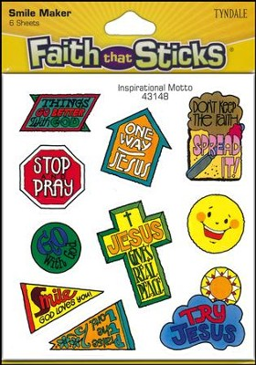 Stickers: Inspirational Motto   -