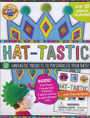 Hat-Tastic Cute & Quirky Craft Kit  -     By: Parragon Books