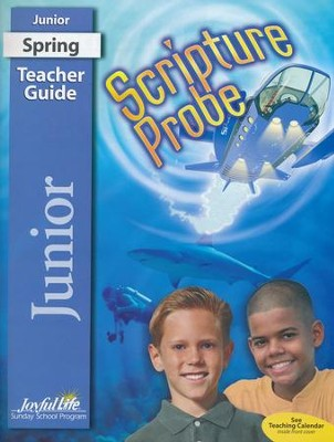 Scripture Probe Junior (Grades 5-6) Teacher Guide  (2016 Edition)  -