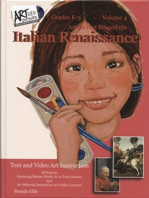 ARTistic Pursuits Volume 4: Artists that Shaped the Italian  Renaissance  -     By: Brenda Ellis