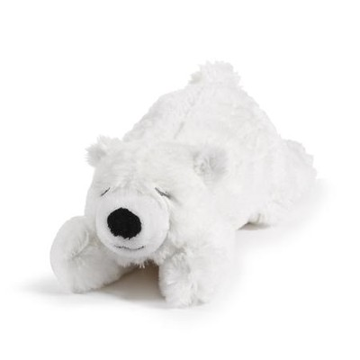 Polar Bear with Rattle  -     By: Nancy Tillman