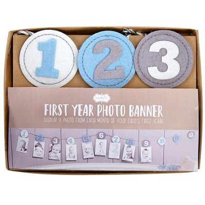 Milestone Monthly Photo Banner for Boys  -