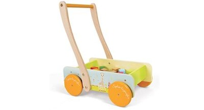 Sophie the Giraffe Walking Trolley  -
