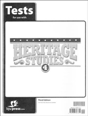 Heritage Studies 4 Tests (3rd Edition)   -