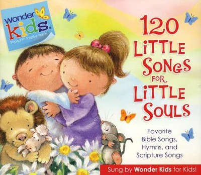 Wonder Kids Music: 120 Little Songs for Little Souls, CD  -     By: Stephen Elkins
