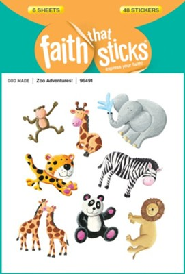 Zoo Adventures! Stickers  -