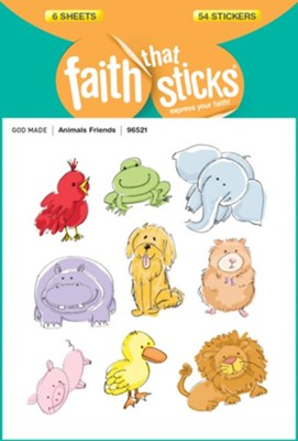 Animal Friends Stickers  -