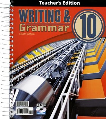 Writing & Grammar Grade 10 Teacher's Edition (4th Edition)  -