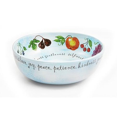 Fruit of the Spirit Ceramic Bowl     -