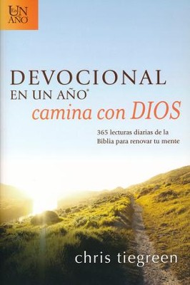 Devocional en un Año Camina con Dios  (One Year Walk With God Devotional)  -     By: Chris Tiegreen