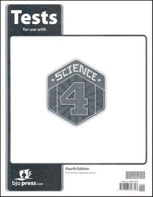 Science 4 Tests (4th Edition)   -