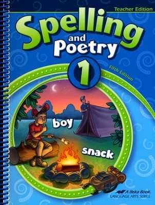 Abeka Spelling and Poetry 1 Teacher Edition (New Edition)   -