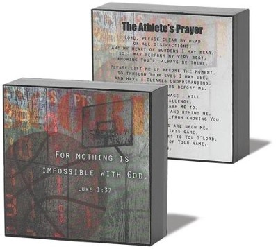 Athlete Prayer Basketball Plaque  -