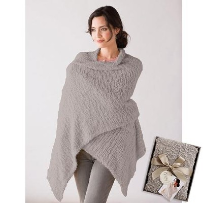 Giving Shawl, Taupe  -