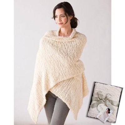 Giving Shawl, Cream  -