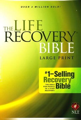 NLT Life Recovery Bible, Large Print, Hardcover   -     Edited By: Stephen Arterburn, David Stoop