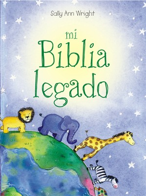 Mi Biblia legado, My Keepsake Bible  -     By: Sally Ann Wright     Illustrated By: Honor Ayres