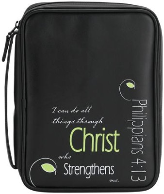 I Can Do All Things Bible Cover, Large  -