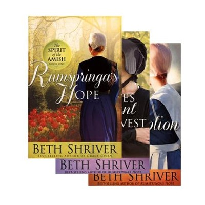 The Spirit of the Amish Series, Volumes 1-3  -     By: Beth Shriver