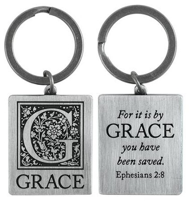 For it is By Grace Keyring   -