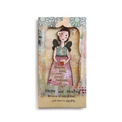 Hope and Healing Angel Ornament in Presentation Slipcase   -