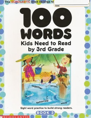 100 Words Kids Need to Read by 3rd Grade  -