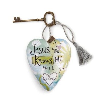Jesus Knows Me, Art Heart  -