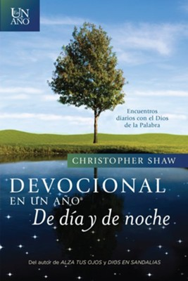 Devocional en un Año de Día y de Noche  (One Year Day and Night Devotional)  -     By: Christopher Shaw