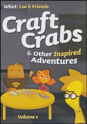 Craft Crabs and Other Inspired Adventures: Volume 1, DVD  -