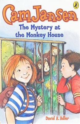 Cam Jansen #10: Mystery of the Monkey House   -     By: David A. Adler     Illustrated By: Susanna Natti