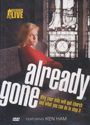 Already Gone DVD   -     By: Ken Ham