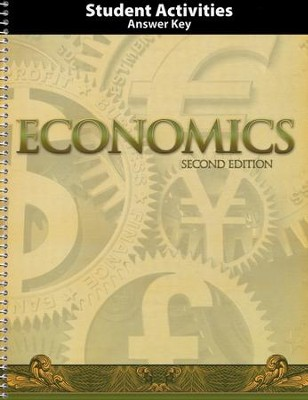 BJU Heritage Studies: Economics Grade 12 Student Activity Manual  Teacher's Edition (Second Edition)  -
