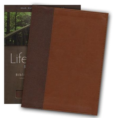 HCSB Life Essentials Study Bible, Simulated Leather Thumb Indexed Brown - Slightly Imperfect  -