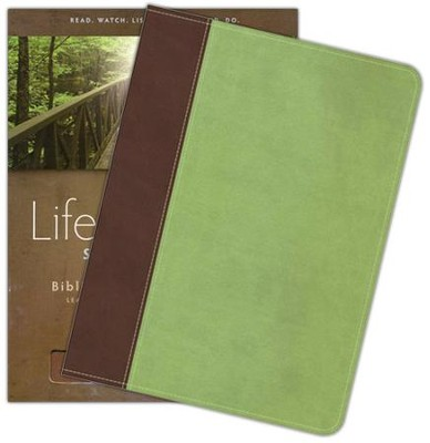 HCSB Life Essentials Study Bible, Simulated Leather Brown/Green   -     By: Gene Getz Ph.D.