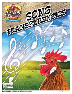 Cowabunga Farm VBS: Song Transparency Packet   -