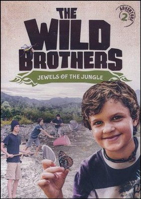 The Wild Brothers #2: Jewels of the Jungle DVD    -