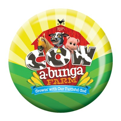 Cowabunga Farm VBS: Theme Buttons, 20   -