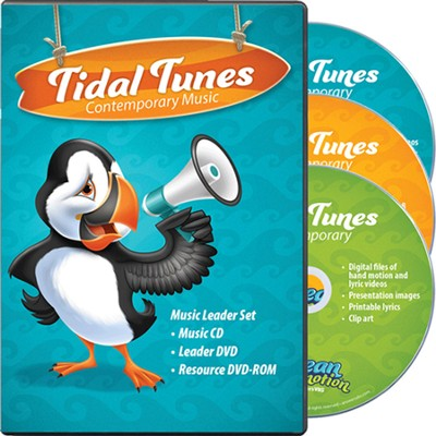 Ocean Commotion VBS Contemporary: Tidal Tunes Music Leader  Set  -