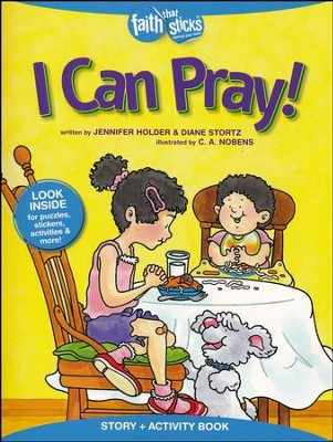 I Can Pray Sticker and Activity Book   -     By: Jennifer Holder, Diane Stortz