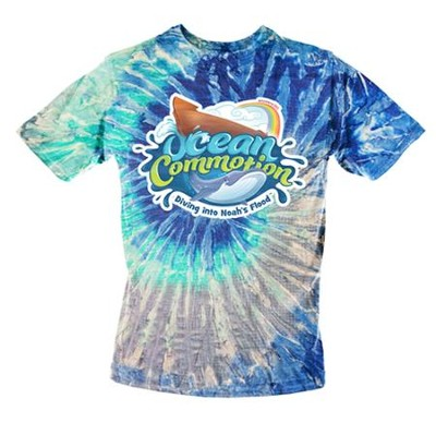 Ocean Commotion VBS Student T-Shirt Adult Large  -
