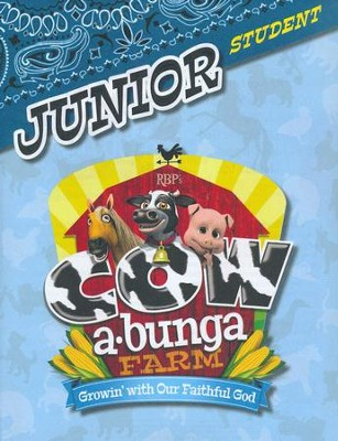 Cowabunga Farm VBS: Junior Student Activity Sheets, NKJV   -
