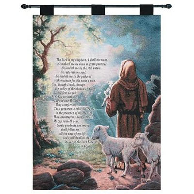 Lord Is My Shepherd Wallhanging  -     By: Judy Gibson