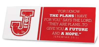 I Know the Plans Plaque  -