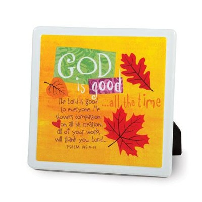 God is Good Plaque  -