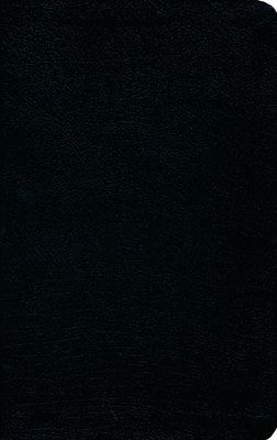 HCSB UltraThin Reference Bible, Bonded Leather, Black    -