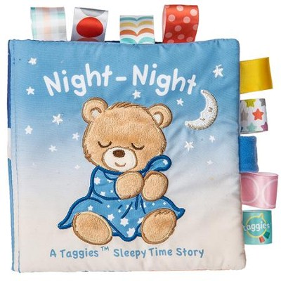 Teddy, Starry Night, Soft Book, Taggie  -