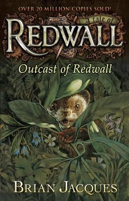 #8: Outcast of Redwall: A Tale of Redwall  -     By: Brian Jacques     Illustrated By: Allan Curless